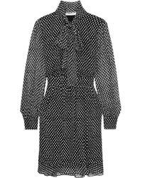 Diane von Furstenberg - Arabella Printed Silk-chiffon Dress - Lyst