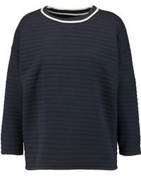 Petit Bateau - Padded Cotton-blend Sweatshirt - Lyst