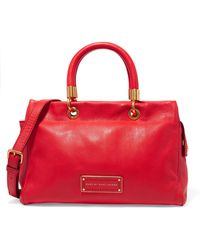 Marc By Marc Jacobs - Too Hot To Handle Textured-leather Tote - Lyst