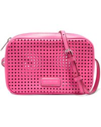 Marc By Marc Jacobs - Sally Perforated Leather Shoulder Bag - Lyst