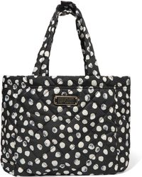 Marc By Marc Jacobs - Crosby Printed Quilted Shell Tote - Lyst