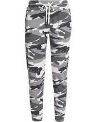 Splendid - Printed Jersey Track Trousers - Lyst