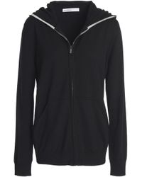 Gentry Portofino - Wool, Silk And Cashmere-blend Hooded Jacket - Lyst
