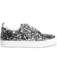 Pierre Hardy - Printed Leather Trainers - Lyst