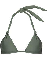 Mikoh Swimwear - Knotted Triangle Bikini Top - Lyst