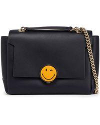 Anya Hindmarch - Embellished Leather Shoulder Bag - Lyst