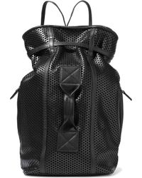 Jérôme Dreyfuss - Perforated Leather Backpack - Lyst
