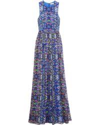 Matthew Williamson - Printed Silk Gown - Lyst