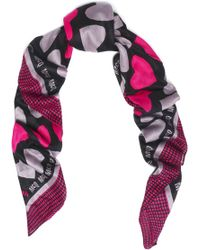 McQ - Printed Modal-voile Scarf - Lyst