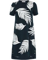 Thom Browne - Appliquéd Cotton-piqué Mini Dress - Lyst