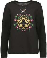 Mother Of Pearl - Edith Embellished Cotton And Modal-blend Sweatshirt - Lyst