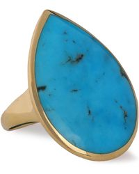 Ippolita - 18-karat Gold Turquoise Ring - Lyst