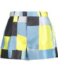 Raoul - Printed Twill Shorts - Lyst