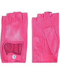 Causse Gantier | Perforated Leather Gloves | Lyst