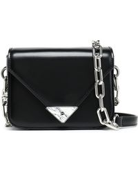 Alexander Wang - Glossed-leather Shoulder Bag - Lyst