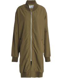 OAK - Shell Jacket Army Green - Lyst