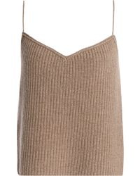 Theory - Ribbed Cashmere Camisole - Lyst