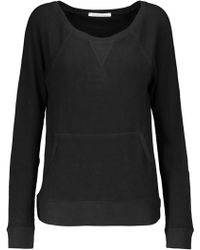 Yummie By Heather Thomson - Stretch Cotton And Modal-blend Jumper - Lyst