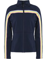 Purity Active - Striped Stretch-jersey Jacket - Lyst