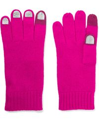 Marc By Marc Jacobs - Wild Thing Foiled Merino Wool Gloves - Lyst