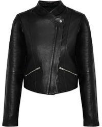 VEDA - Jamie Leather Jacket - Lyst