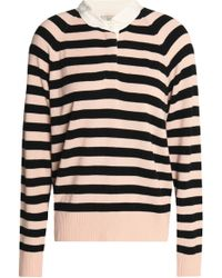 Joie - Striped Knitted Jumper - Lyst