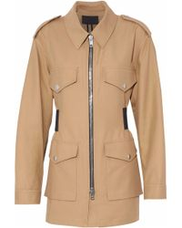 Alexander Wang - Cotton-twill Jacket - Lyst