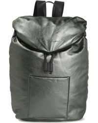 Brunello Cucinelli - Metallic Leather Backpack - Lyst