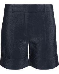 Nina Ricci - Crinkled Satin-crepe Shorts - Lyst