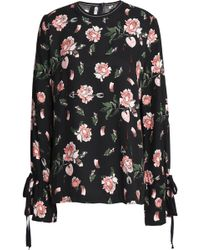 Mother Of Pearl - Floral-print Twill Blouse - Lyst