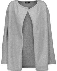 Theory - Nyma Merino Wool-blend Cardigan - Lyst