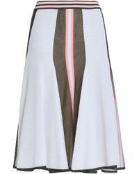 Missoni - Fluted Jacquard-knit Skirt - Lyst