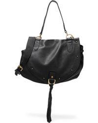 994cf26a283c See By Chloé - Collins Tasseled Brushed-leather Shoulder Bag - Lyst