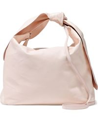 Simone Rocha - Knotted Leather Shoulder Bag - Lyst