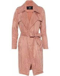 Line - Margaux Washed-twill Trench Coat - Lyst
