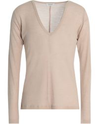 Totême  - Agrinio Ribbed Wool-jersey Top - Lyst