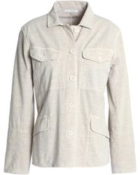 James Perse - Cotton-blend Jersey Jacket - Lyst