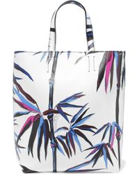Emilio Pucci - Printed Leather Shoulder Bag - Lyst