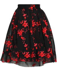 Maje - Embroidered Tulle Skirt - Lyst