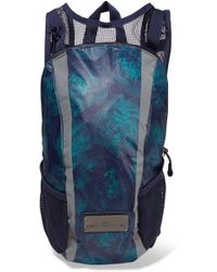 8337fc9741b6 adidas By Stella McCartney - Run Mesh-paneled Printed Shell Backpack - Lyst