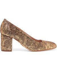 Michael Kors - Gigi Metallic Brocade Court Shoes - Lyst