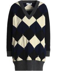 Sonia Rykiel - Oversized Jacquard-knit Sweater - Lyst