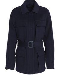 JOSEPH - Wool And Cashmere-blend Felt Jacket - Lyst