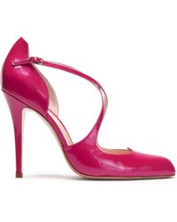 Camilla Elphick - Patent-leather Court Shoes - Lyst