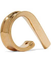 Annelise Michelson | Ellipse Gold-tone Ring | Lyst