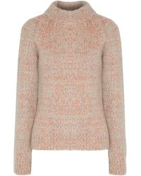 Duffy - Marled Cable-knit Turtleneck Jumper - Lyst