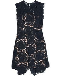 Catherine Deane - Fjola Guipure Lace Mini Dress - Lyst