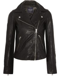 Madewell - Leather Biker Jacket - Lyst