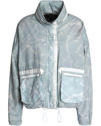 Belstaff - Tie-dye Cotton Jacket Sky Blue - Lyst