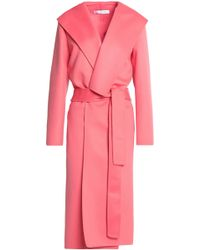 Oscar de la Renta - Belted Wool And Cashmere-blend Coat - Lyst